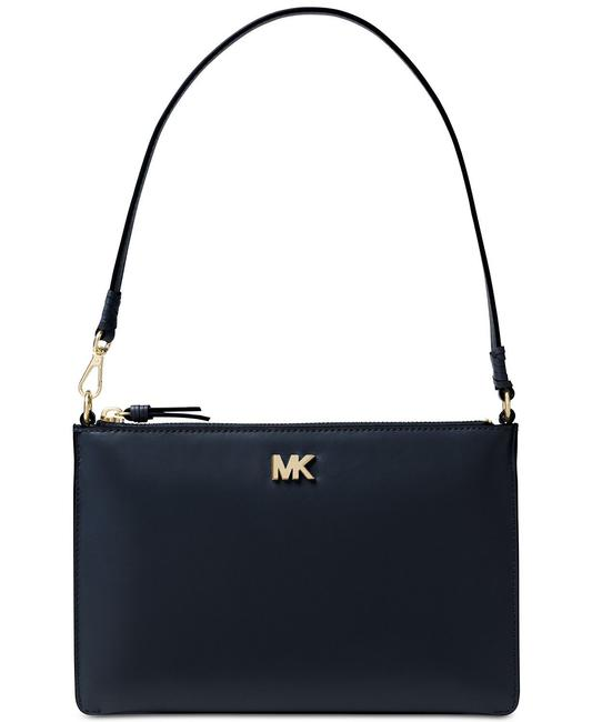 Item - Convertible Admiral Navy Leather Clutch