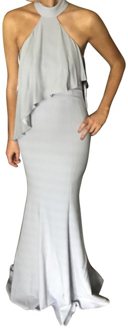 Preload https://img-static.tradesy.com/item/24327146/jay-godfrey-ice-blue-franklin-high-neck-overlay-gown-from-long-formal-dress-size-2-xs-0-3-650-650.jpg