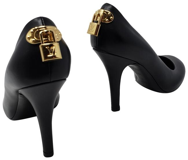 Item - Black Leather Oh Really Round-toe Pumps Size EU 36.5 (Approx. US 6.5) Regular (M, B)