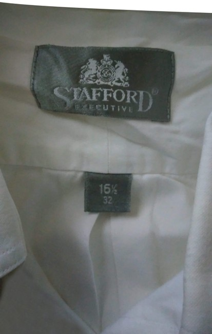 Preload https://img-static.tradesy.com/item/24327191/stafford-button-up-shirt-button-down-top-size-16-xl-plus-0x-0-3-650-650.jpg