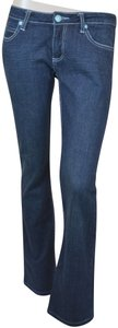 Robin's Jean Usa Made Denim Boot Cut Jeans-Dark Rinse