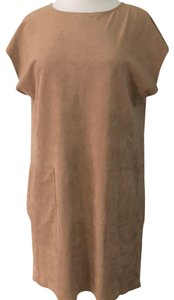Wilfred short dress tan on Tradesy