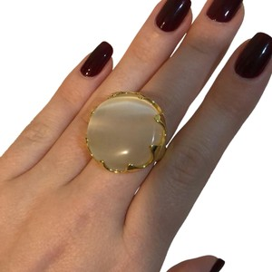 Other Yellow Gold big face ring