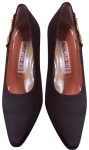 Versani Brown Pumps