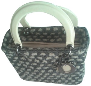 Dior Tote in Grey and Beige