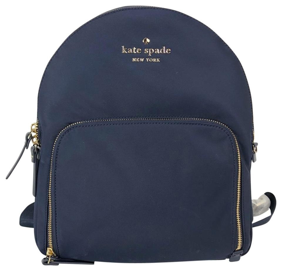 delicate colors so cheap lowest price Kate Spade New Blue Shell: Nylon Cow Leather; Lining: Polyester Backpack