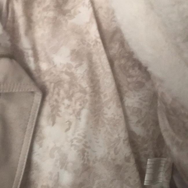 Guess cream Leather Jacket