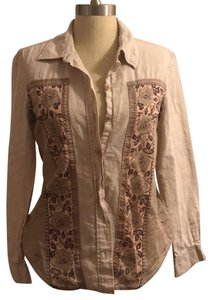 Free People Button Down Shirt