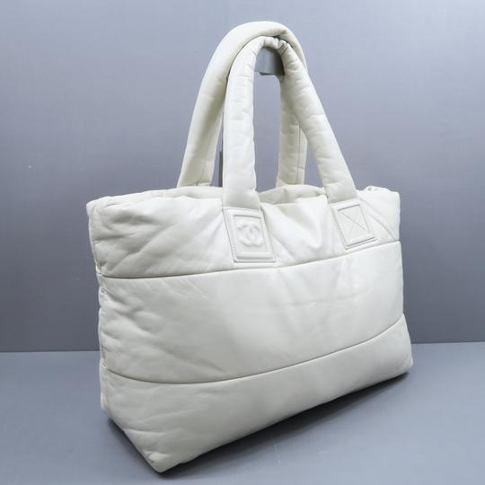 Chanel Large Coco Cocoon Tote in Ivory
