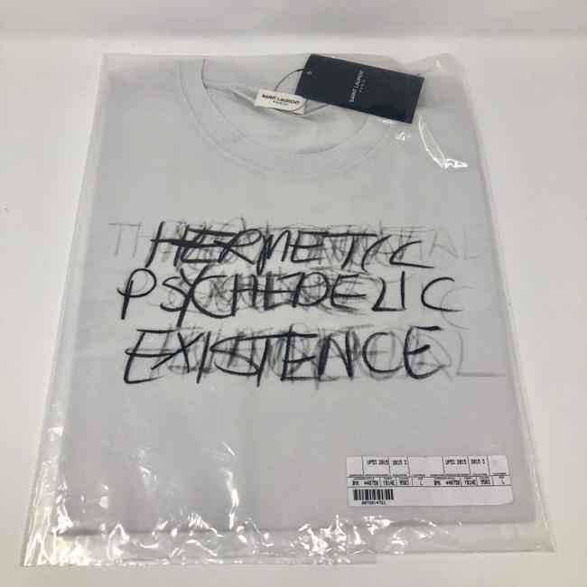 Saint Laurent T Shirt white