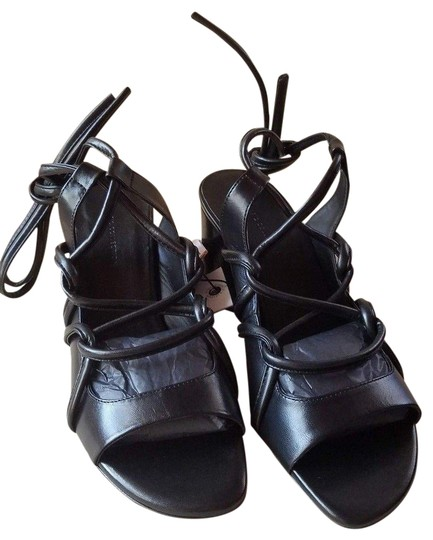 Preload https://img-static.tradesy.com/item/24327852/zara-black-new-leather-strappy-lace-up-sandals-formal-shoes-size-us-65-narrow-aa-n-0-3-540-540.jpg