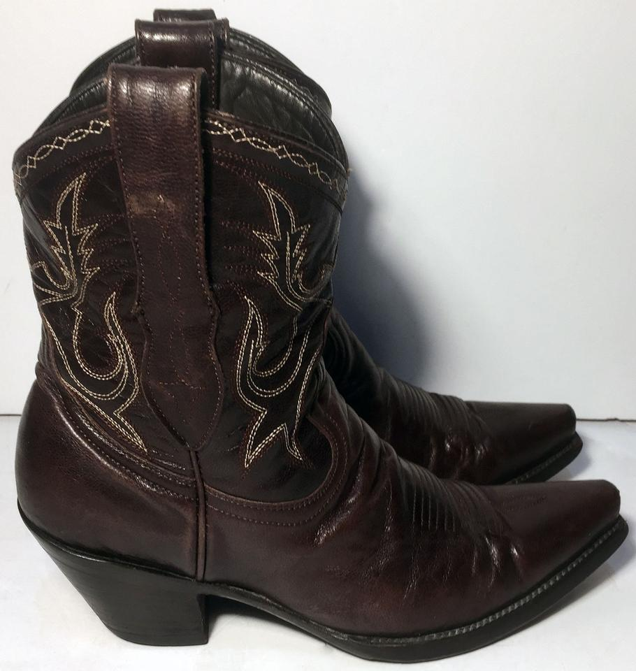 e48663d81f3 Old Gringo Brown Star By Leather Cowgirl Women's Boots/Booties Size US 6.5  Regular (M, B) 65% off retail