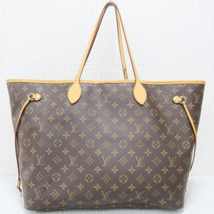 Louis Vuitton Lv Monogram Neverfull Gm Canvas Shoulder Bag