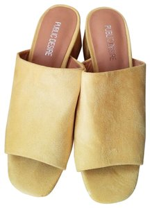 Public Desire Yellow Wedges