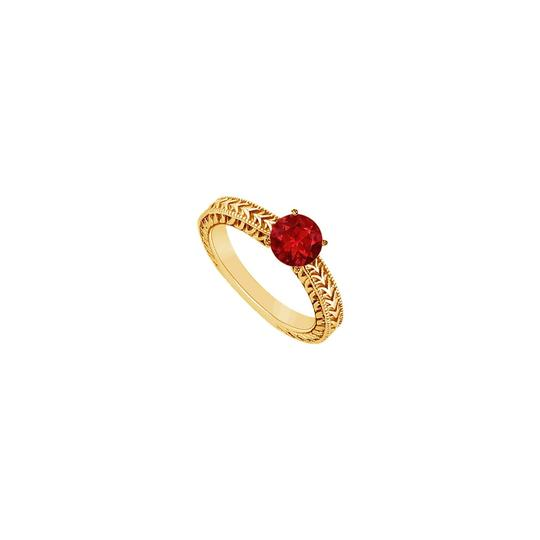 Preload https://img-static.tradesy.com/item/24327995/red-created-ruby-14k-yellow-gold-050-ct-tgw-ring-0-0-540-540.jpg