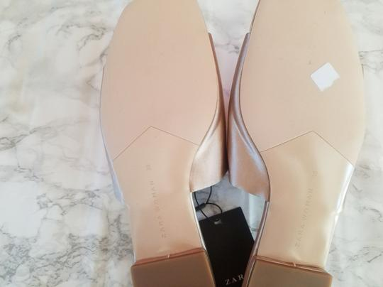 Zara Light Pink Flats