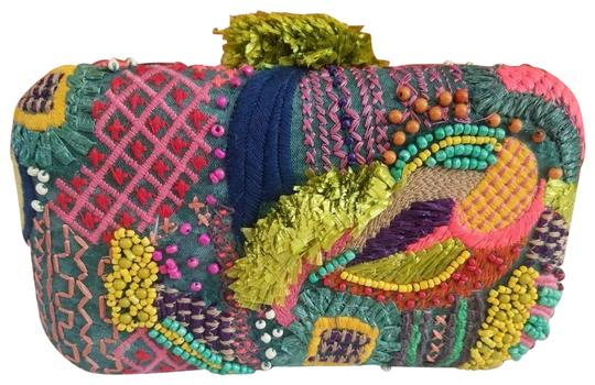 Zara Multicolor Clutch