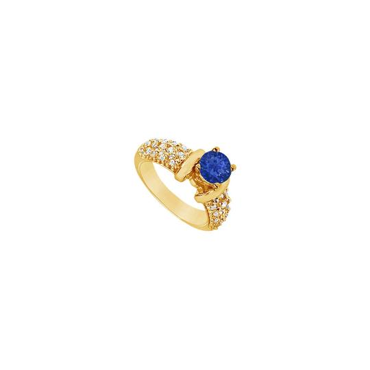 Preload https://img-static.tradesy.com/item/24328228/blue-created-sapphire-and-cubic-zirconia-engagement-14k-yellow-gold-2-ring-0-0-540-540.jpg