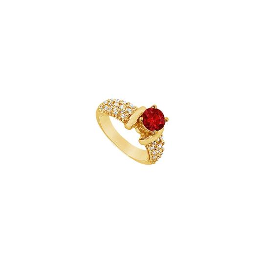 Preload https://img-static.tradesy.com/item/24328241/red-created-ruby-and-cubic-zirconia-engagement-14k-yellow-gold-200-c-ring-0-0-540-540.jpg