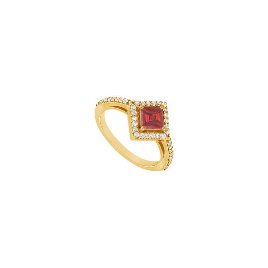 Preload https://img-static.tradesy.com/item/24328294/red-created-ruby-and-cubic-zirconia-engagement-14k-yellow-gold-100-c-ring-0-0-540-540.jpg