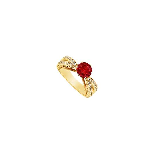 Preload https://img-static.tradesy.com/item/24328313/red-created-ruby-and-cubic-zirconia-engagement-14k-yellow-gold-150-c-ring-0-0-540-540.jpg