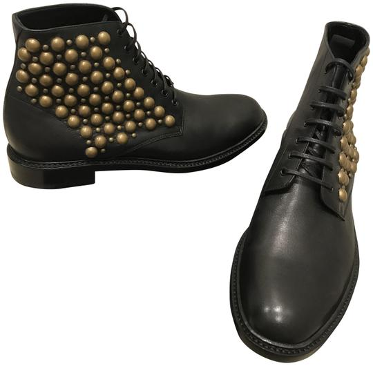 Preload https://img-static.tradesy.com/item/24328373/saint-laurent-black-lace-up-ankle-with-studs-bootsbooties-size-us-105-regular-m-b-0-3-540-540.jpg