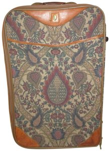 Hartmann Vintage Leather Tapestry 005 Rolling tan multi Travel Bag
