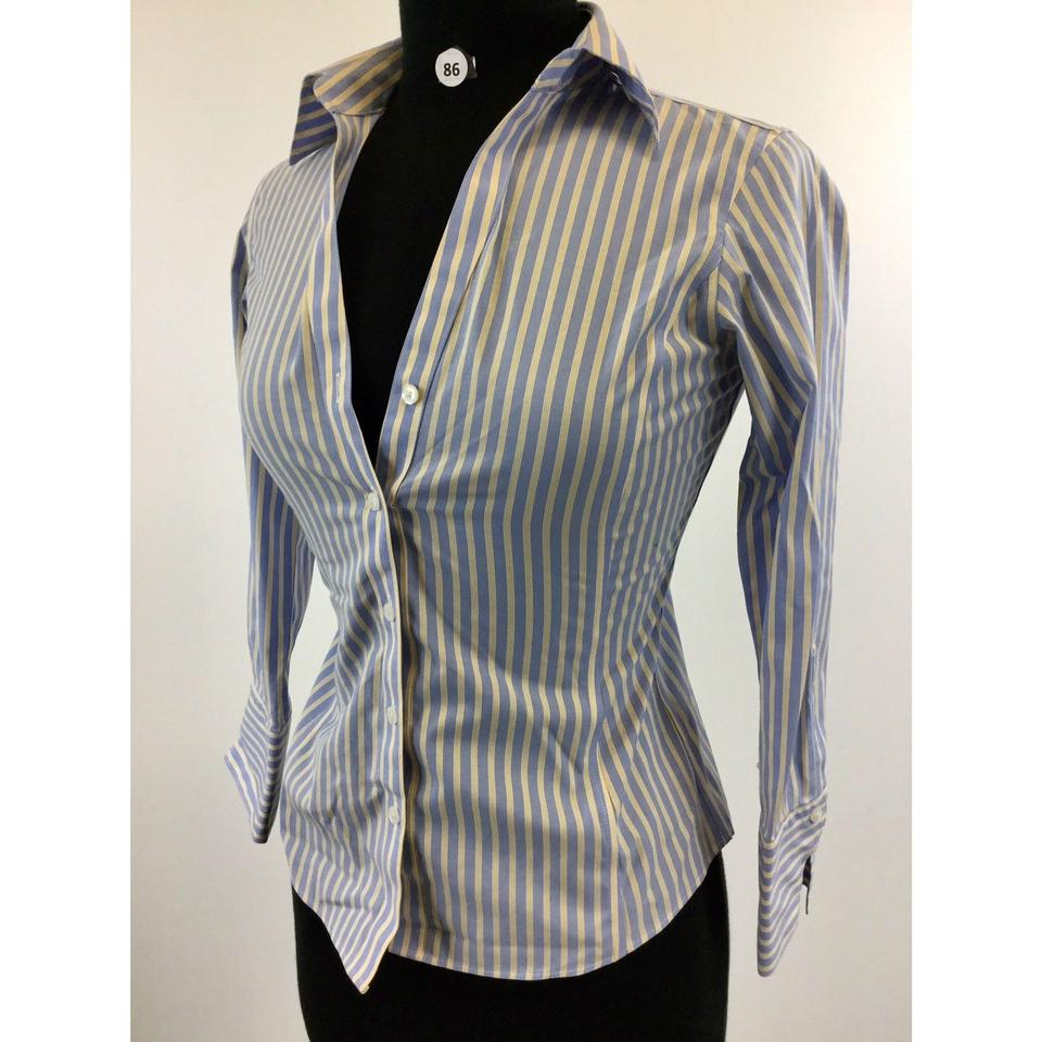 Brooks Brothers Multicolor Stripe Long Sleeve Womens Designer 0p B