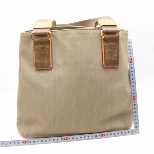 Louis Vuitton Cabas Limited Rare Voyage Neverfull Tote in Beige