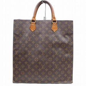 Louis Vuitton Sac Plat Neverfull Flat Clutch Shopper Tote in Brown