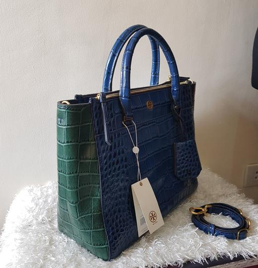Tory Burch Tote in Navy multiblue
