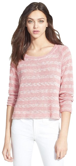 Preload https://img-static.tradesy.com/item/24328559/splendid-sierra-stripe-loose-knit-desert-rose-xs-sweater-0-3-650-650.jpg