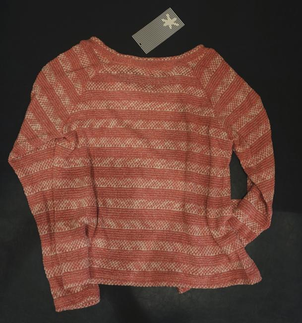 Splendid Knit Striped Longsleeve Stretchy Sweater