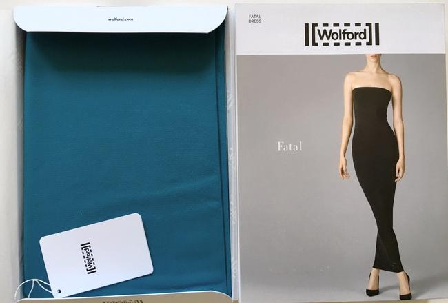 Turquoise Maxi Dress by Wolford Fatal Convertible Pencil Pencil Skirt
