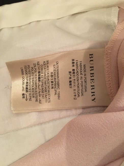Burberry London Suit Trouser Pants Light pink
