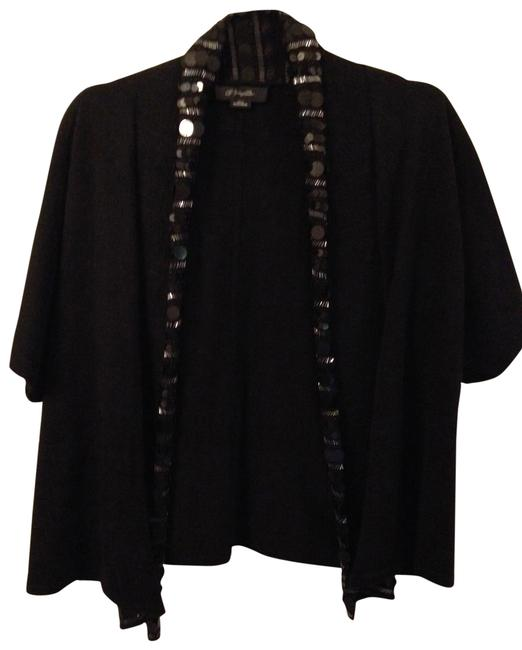 Preload https://img-static.tradesy.com/item/24328723/christopher-fischer-black-sequin-collar-cashmere-sweater-cardigan-size-2-xs-0-4-650-650.jpg