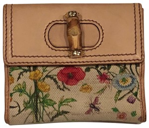 Gucci Flora Canvas and Bamboo