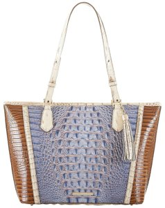 Brahmin Tote in Washed Indigo