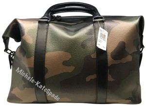 8ce7b682f0636 Coach Men s Voyager Camo Print F29049 Multicolor Coated Canvas ...