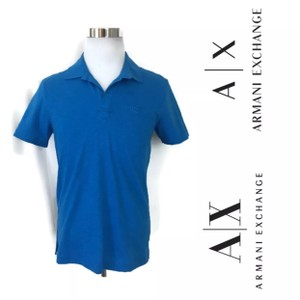 A|X Armani Exchange T Shirt Blue