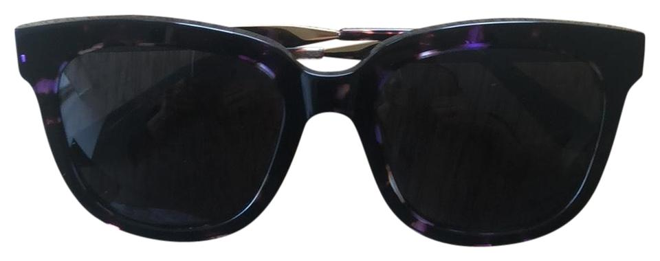 82ee5b47f58 Gentle Monster Purple and Brown Sunglasses - Tradesy