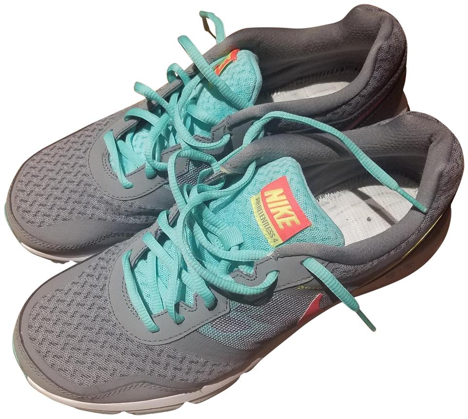 new styles 58141 9c886 Nike Sneaker Gym Laces Gray Teal Athletic Image 0 ...