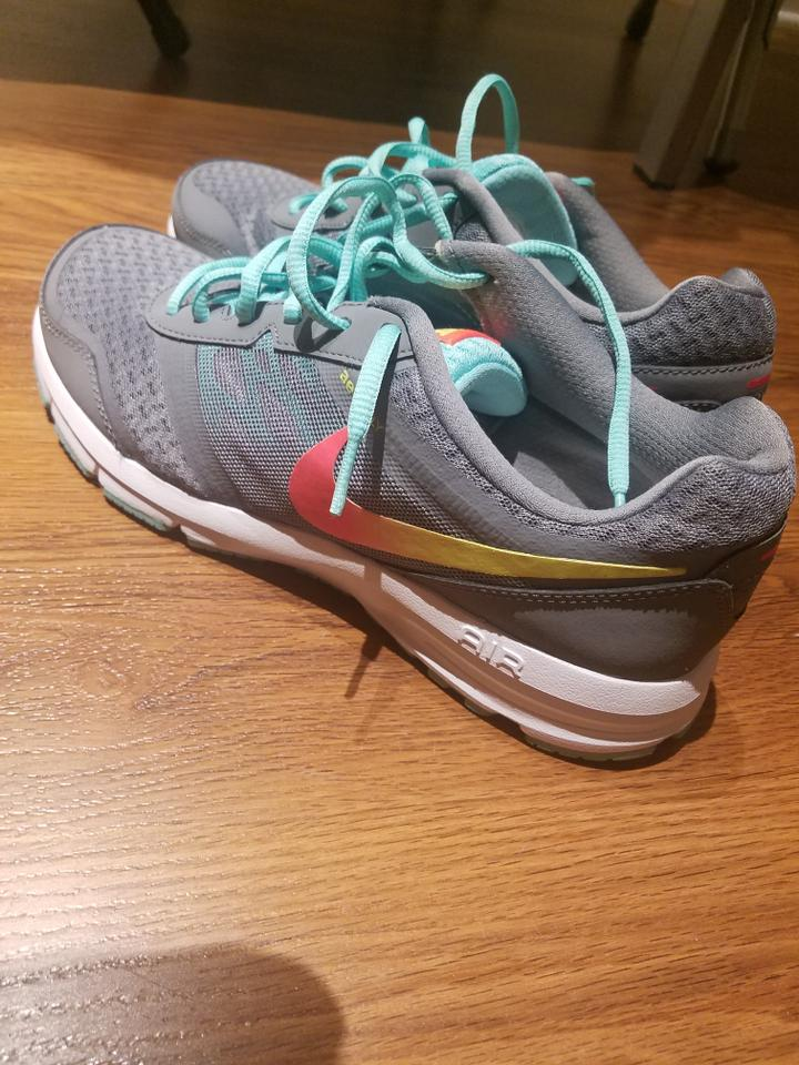 best cheap 444c5 6aacb Nike Sneaker Gym Laces Gray Teal Athletic Image 5. 123456
