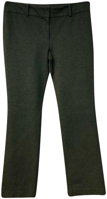 Item - Gray Modern Stretch Poly Blend Knit Pants Size 12 (L, 32, 33)