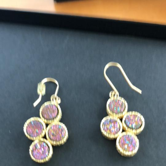 Other 14k druzy and amethyst pendant & 14k druzy earrings Image 2