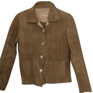 Bella Dahl tan Leather Jacket