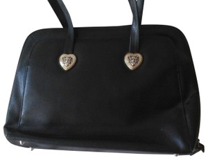 Coldwater Creek Faux Leather Tote in Black