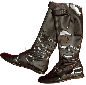 Taryn Rose Black with pewter hardware Boots