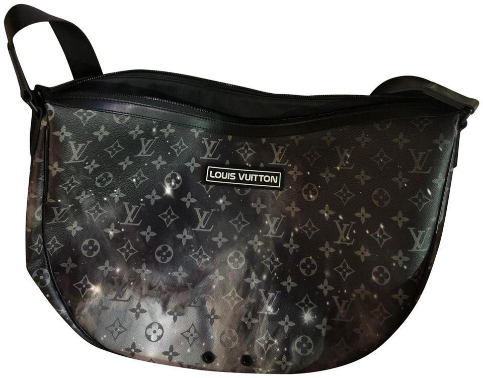 24f3e27739b Louis Vuitton Alpha Kim Jones/Virgil Abloh Colla Galaxy Monogram Leather  Hobo Bag