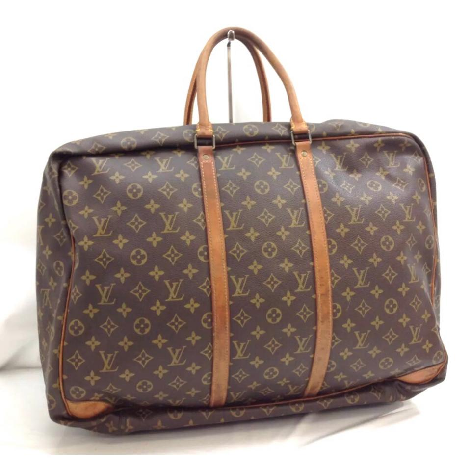 louis vuitton sirius 50 weekend travel bag tradesy. Black Bedroom Furniture Sets. Home Design Ideas